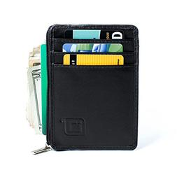 ID STRONGHOLD RFID Front Pocket Wallet Mini Minimalist Walle