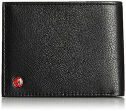rfid safe mens deluxe wallet genuine leather