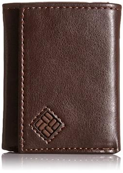 Columbia RFID Security Shield Theft Protection Leather Tri-f
