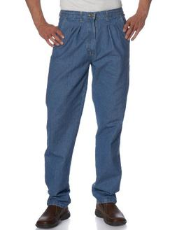 Wrangler Men's  Rugged Wear Angler Relaxed Fit Jean,Indigo,4