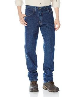 Wrangler Men's Rugged Wear Jean, Dark Stonewash, 38x30