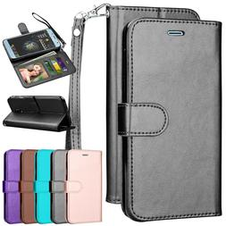 For Samsung Galaxy Flip Leather Magnetic Wallet Case Cover w