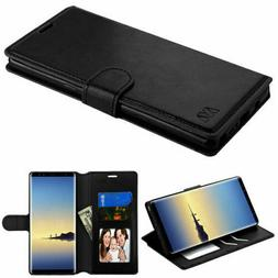For Samsung GALAXY S8 / S8 Plus Leather Flip Fold Wallet Cas