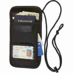 Secret Security Neck Strap Bag Hidden Passport Case Travel W