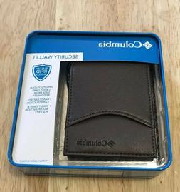 Columbia security Wallet Front Pocket with RFID Protection