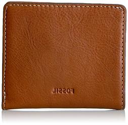FOSSIL SL7150200 Emma RFID Mini Wallet Brown Leather Women's