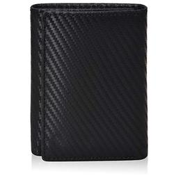 Slim Leather RFID Trifold for Men - RFID Blocking Genuine Le
