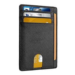 Slim Money Clip Pocket Wallet Case for Men and Women, Minima