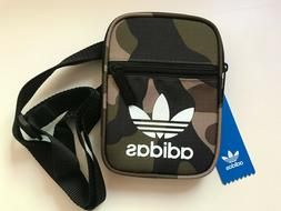 ADIDAS SMALL CAMOUFLAGE BAG MAN HANDBAG MINI PURSE WALLET CL