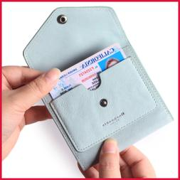 Small Leather Wallet For Women RFID Blocking Women's Credit