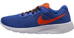 NIKE Boy's Tanjun Running Shoe, Racer Blue/Total Crimson-Bla