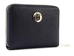 Tommy Hilfiger Th Core Compact Za Wallet, Women's Blue , 1