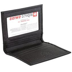 thin front pocket wallet business card case