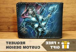 THOR Wallet + GIFT Marvel Comics Bifold Authentic Leather |