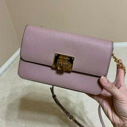 Michael Kors TINA Double Snap Bag 2in1 Wallet Cluth Crossbod