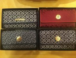 TOMMY HILFIGER Trifold Wallets ASSORTED STYLES. New!