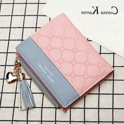 Under 10 Dollars Gift For Woman Wallet Zipper Multicolor Wal