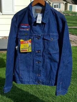 Wrangler Men's Unlined Denim Jacket, Denim, X-Large