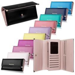 US Women Long Clutch Leather Wallet Card Holder Phone Bag Ca