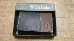 Timberland Wallet Black/Brown trifold free shipping brand ne