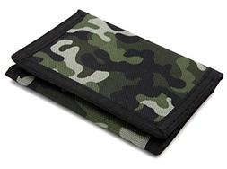 Wallet Camouflage Wallet Nylon Trifold Wallets for Men with