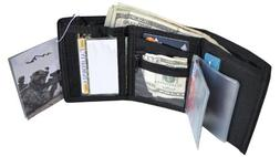 Explorer Men's Wallet, Black, 3.5 x 5-Inch