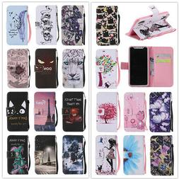 Wallet Flip Leather Phone Case Cover For Samsung Galaxy A10
