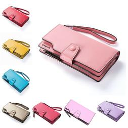 Wallet For Women Zipper Clutch Large-capacity Mobile Phone C