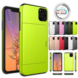 Wallet Phone Case For iPhone 11 Pro Max XR XS X Credit Card