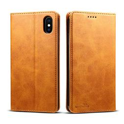Wallet Phone Cover Leather for Apple iPhone Xs Max 2018 6.5