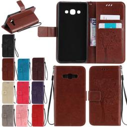 Wallet Shockproof Leather Case Cover Stand Folio For Samsung