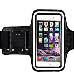 Premium Water Resistant Sports Armband with Key Holder for i