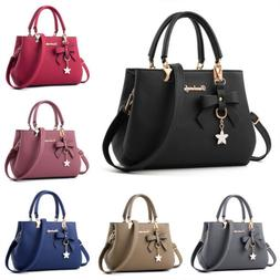 Women Handbag Shoulder Tote Bag Leather Crossbody Ladies Mes