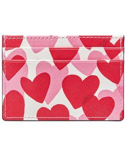 Kate Spade New York Women's Yours Truly Print Card Holder-GR
