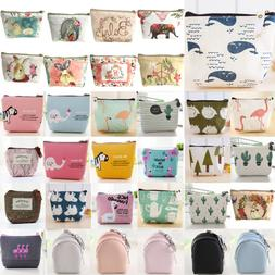 Women Small Money Wallets Coin Pouch Key Chain ID Holder Car