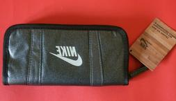 Nike Women's and Teen Girl Bi-Fold Zip Wallet Color Black/Gr