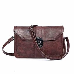 Womens Small Crossbody Bags Cell Phone Wallet Purse Bag for
