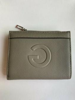 Guess Women's small Money wallet Gray NWT