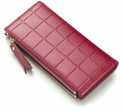 Zipper Wallets For Girl Double Coin Purse Holders Ladies Wom